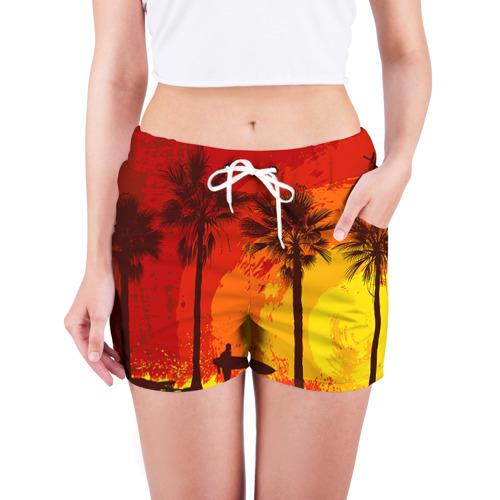 Женские шорты 3D  Фото 03, Summer Surf