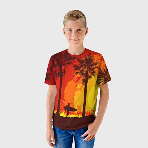 Детская футболка 3D Summer Surf Фото 01