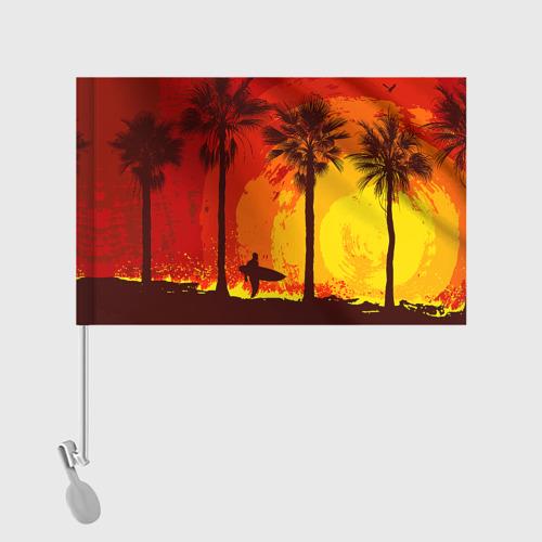 Флаг для автомобиля Summer Surf Фото 01