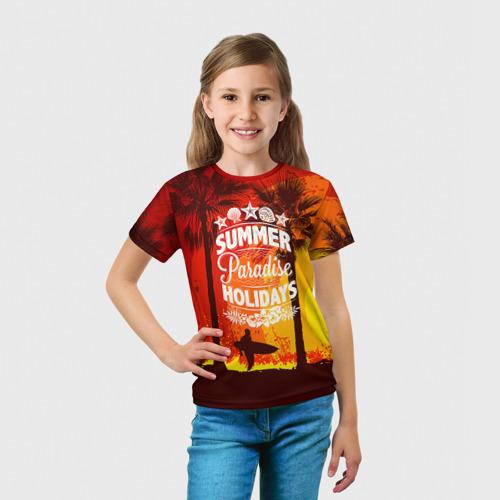 Детская футболка 3D Summer Surf 2 Фото 01