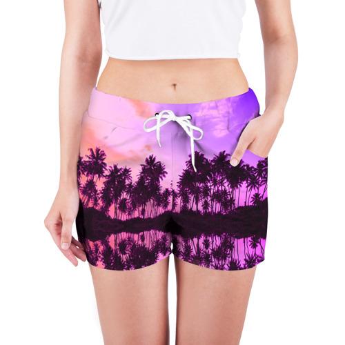 Женские шорты 3D  Фото 03, Hawaii dream