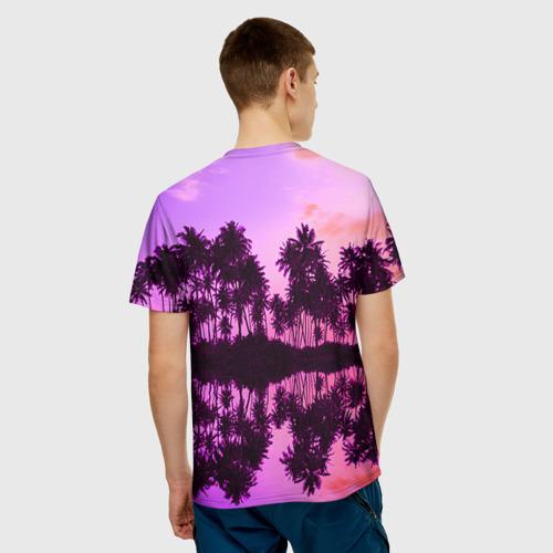 Мужская футболка 3D Hawaii dream Фото 01