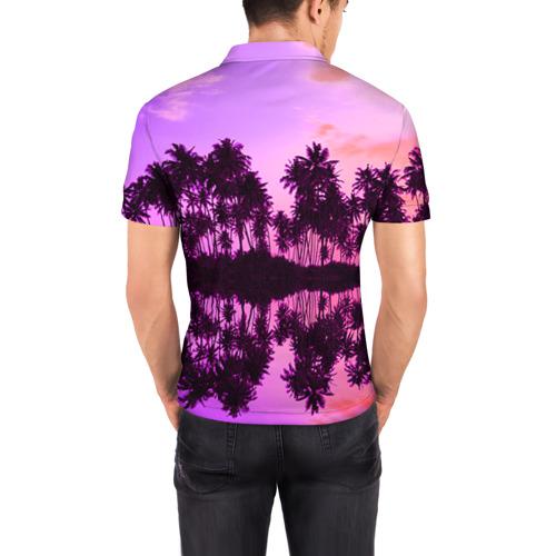 Мужская рубашка поло 3D Hawaii dream Фото 01