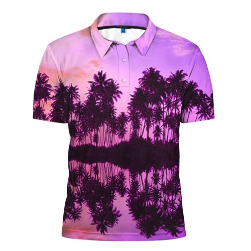 Мужская рубашка поло 3D Hawaii dream