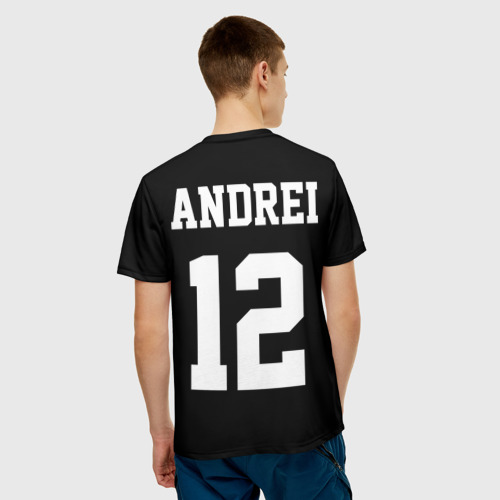 Мужская футболка 3D  Фото 02, Andrei