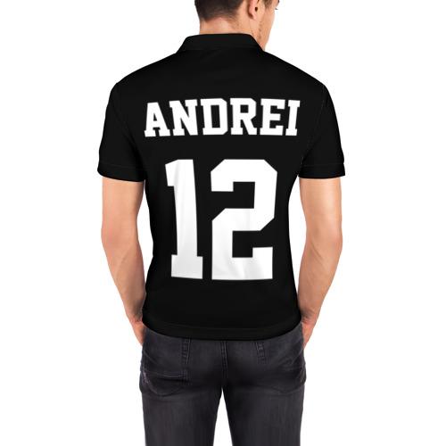 Мужская рубашка поло 3D  Фото 04, Andrei