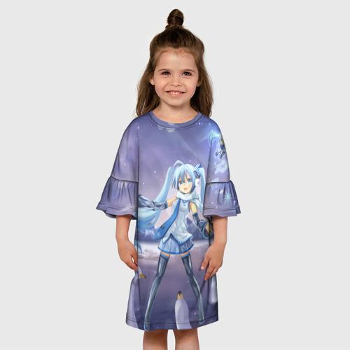 Детское платье 3D  Фото 01, Hatsune Miku