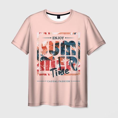 Мужская футболка 3D  Фото 03, Summer time part 2