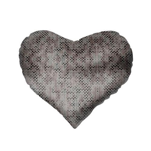 Подушка 3D сердце  Фото 02, Кольчуга