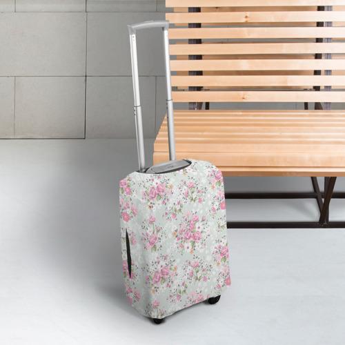 Чехол для чемодана 3D Flower pattern Фото 01