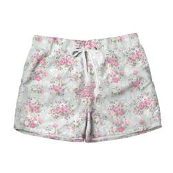Женские шорты 3DFlower pattern
