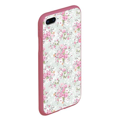 Чехол для iPhone 7Plus/8 Plus матовый Flower pattern Фото 01