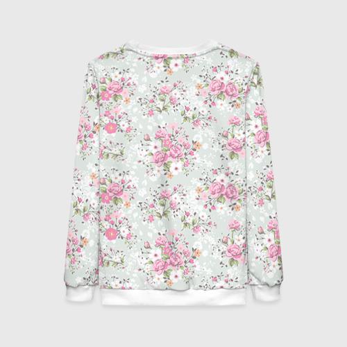 Женский свитшот 3D Flower pattern Фото 01