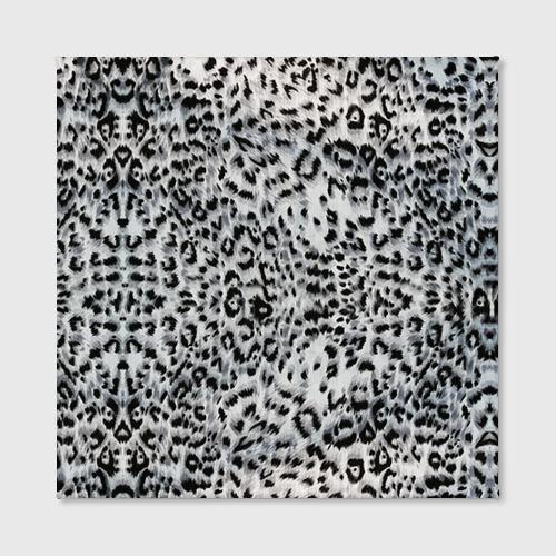 Холст квадратный  Фото 02, White Jaguar