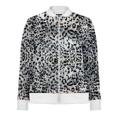 Женская олимпийка 3D  Фото 01, White Jaguar