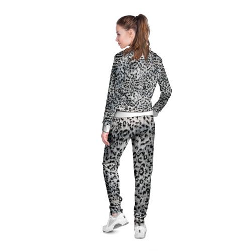 Женская олимпийка 3D  Фото 04, White Jaguar