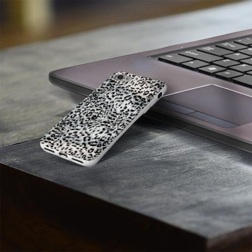 Чехол для Apple iPhone 8 силиконовый глянцевый  Фото 03, White Jaguar