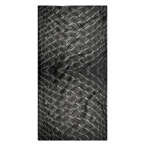 Бандана-труба 3D Черная кожа Фото 01