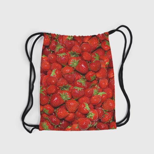 Рюкзак-мешок 3D Клубнички Фото 01