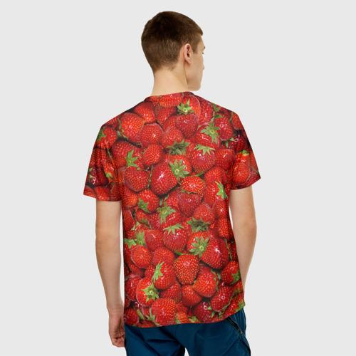 Мужская футболка 3D Клубнички Фото 01