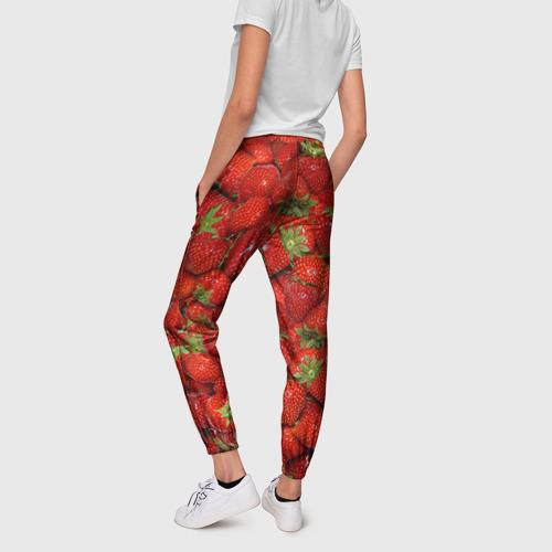 Женские брюки 3D Клубнички Фото 01