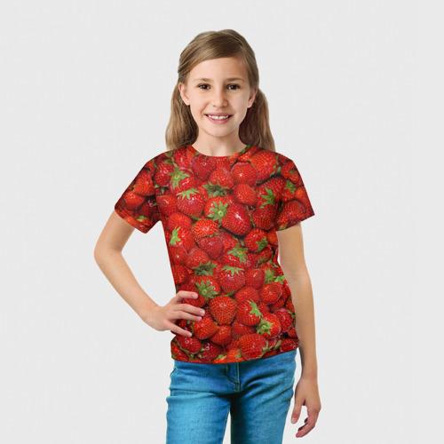 Детская футболка 3D Клубнички Фото 01