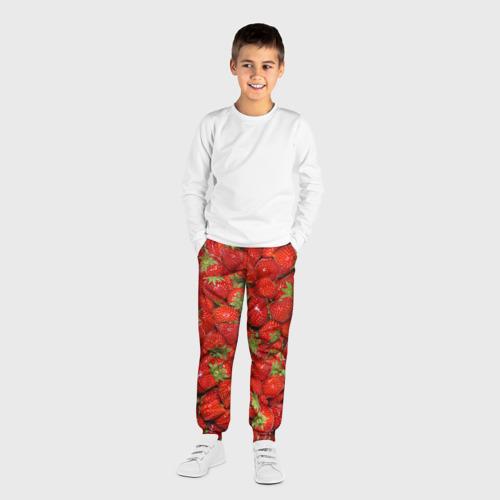 Детские брюки 3D Клубнички Фото 01