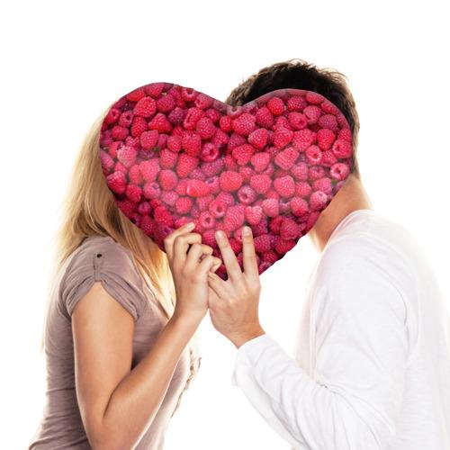 Подушка 3D сердце  Фото 03, Малинки