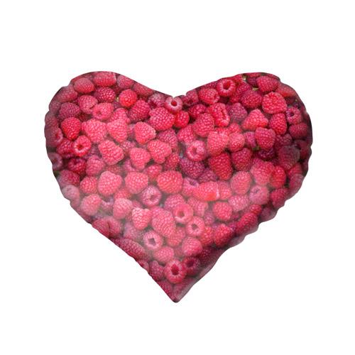Подушка 3D сердце  Фото 02, Малинки