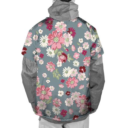 Накидка на куртку 3D Цветочки Фото 01