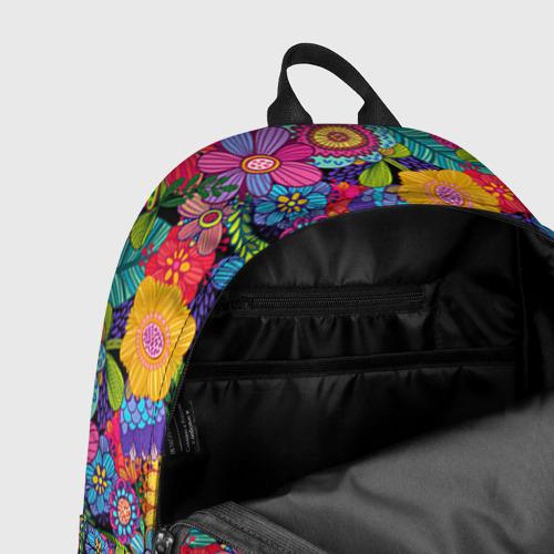 Рюкзак 3D Яркие цветы Фото 01
