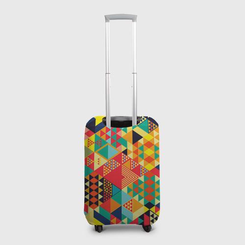 Чехол для чемодана 3D Геометрия Фото 01