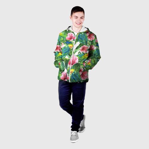 Мужская куртка 3D Джунгли Фото 01