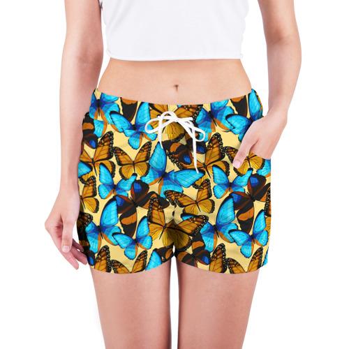 Женские шорты 3D  Фото 03, Бабочки