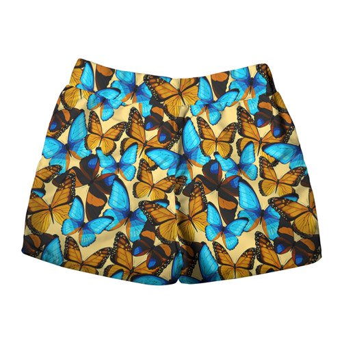 Женские шорты 3D  Фото 02, Бабочки