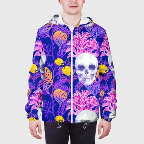 Мужская куртка 3D  Фото 04, Черепа
