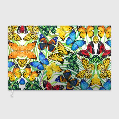 Флаг 3D Бабочки 2 Фото 01