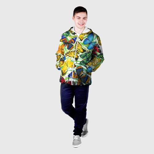 Мужская куртка 3D  Фото 03, Бабочки 2