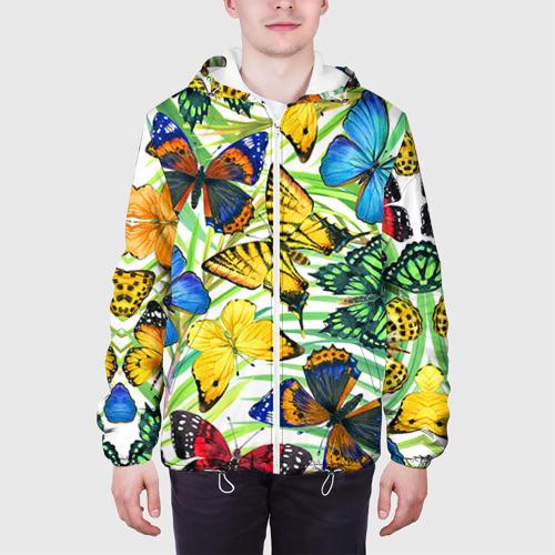 Мужская куртка 3D  Фото 04, Бабочки 2