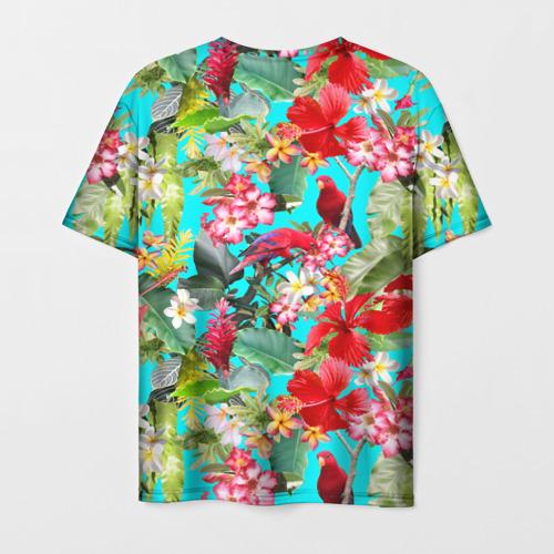 Мужская футболка 3D Тропический мир Фото 01
