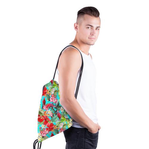Рюкзак-мешок 3D Тропический мир Фото 01