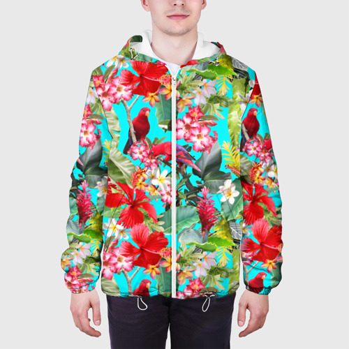 Мужская куртка 3D  Фото 04, Тропический мир