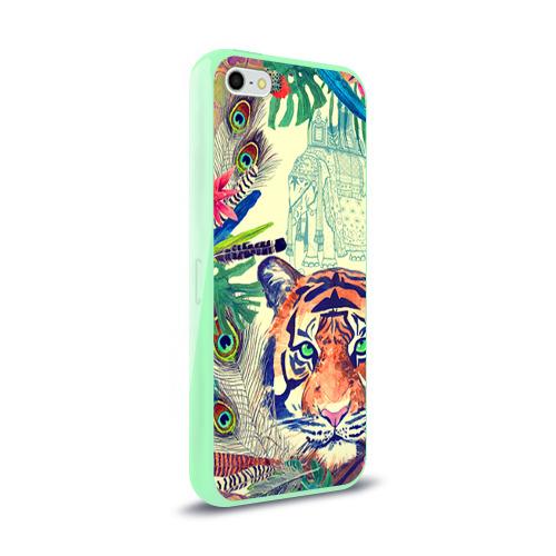 Чехол для Apple iPhone 5/5S силиконовый глянцевый Индия Фото 01