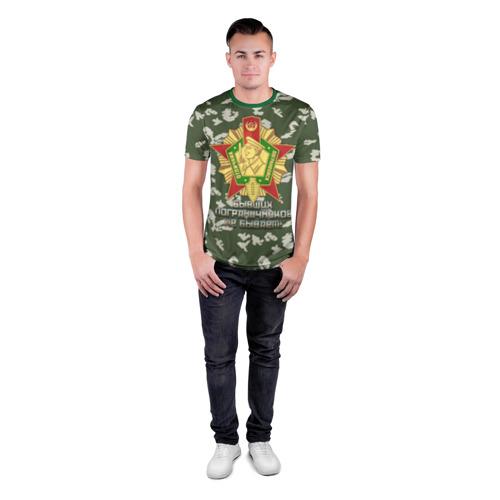 Мужская футболка 3D спортивная Отличник Погранвойск 1 степени Фото 01