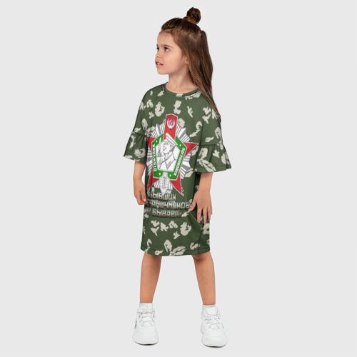Детское платье 3D  Фото 03, Отличник Погранвойск 2 степени