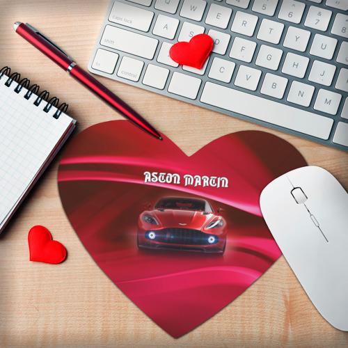 Коврик для мыши сердце  Фото 02, Aston Martin