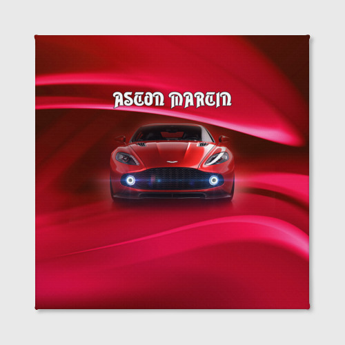Холст квадратный  Фото 02, Aston Martin
