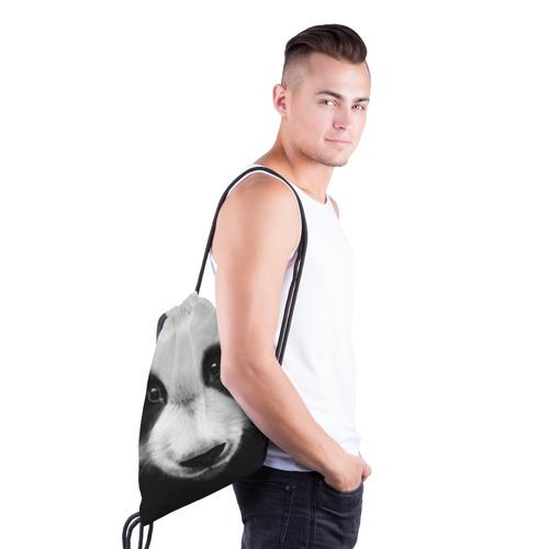 Рюкзак-мешок 3D  Фото 03, Морда панды