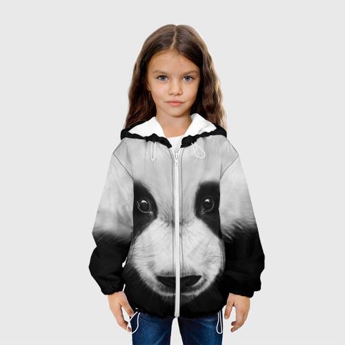 Детская куртка 3D Морда панды Фото 01