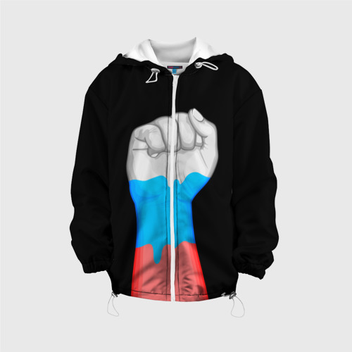 Детская куртка 3D  Фото 01, Русский кулак